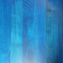 Blue Solid Wood Table Top 25mm Thick