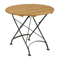 Cromer Round Outdoor Folding Table 85cm