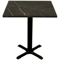 Black Marble Complete Samson Square Table