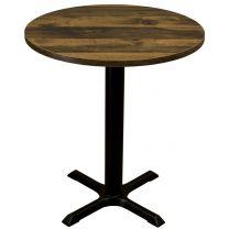 Rustic Oak Complete Samson Small Round Table