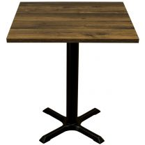 Rustic Oak Complete Samson Square Table