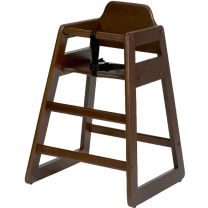 Bambino Baby Highchair Walnut