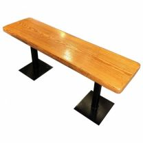 Used Solid Wood Bench Seat. 110cm
