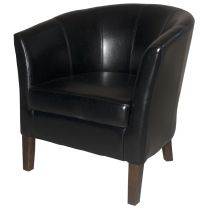 Black Covent Tub Chairs