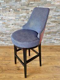 Luxury Upholstered Bar Stool