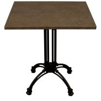 Copper Baltic Complete Continental Square Table