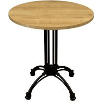 Forest Oak Complete Continental Round Table