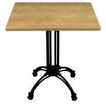 Forest Oak Complete Continental Square Table