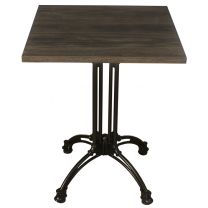 Dark Oak Complete Square Continental 60cm Table
