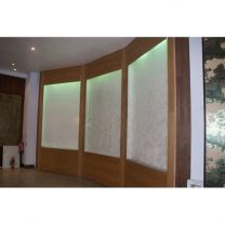 Commercial Waterfall Enclosure