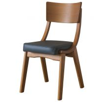 Ripple Oak / Grey - Restaurant Dining Chairs