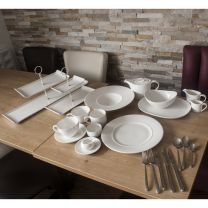 Sola Cutlery & Churchill Alchemy Crockery Set (For 80 Covers)