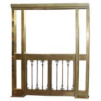 Brass Large Swinging Gate