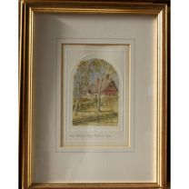 Gold Framed Watercolor-Look Pictures
