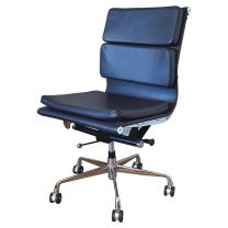 Used Eames Style Leather Office Chair