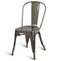 Eiffel Side Chair - Gunmetal