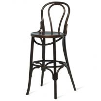 Bentwood Ella Bar Stool - Walnut