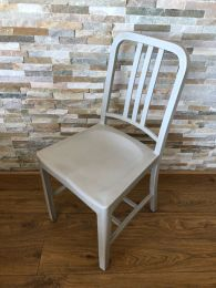 Grey Outdoor Side Chair