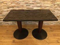 Twin Pedestal 4 Seater Granite Table
