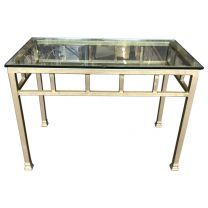 Gold Painted Rectangle Table