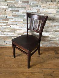 Ex Restaurant Houston Side Chair in Dark Wood