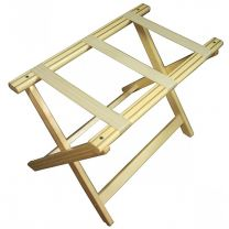 Light Wood Luggage Rack