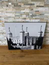 Set of 4 High Quality Large Canvas Prints with London Themes.
