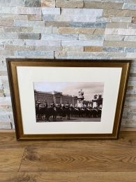 High Quality Gold Framed Print. Changing of the Guards Buckingham Palace