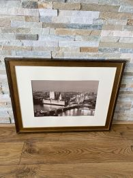 High Quality Gold Framed Print. Westminster Bridge London