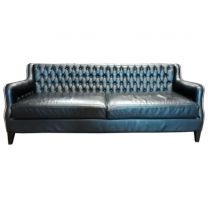 SASA Luxury Italian Designer Button Back Sofa