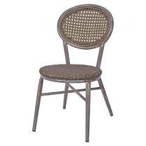 Lille Outdoor Side Chair - Grey