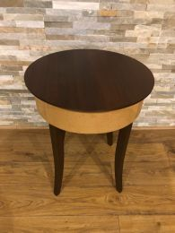 Ex Hotel Round Occasional Table by Morgan Furniture.