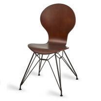Mile Side Chair, Wenge, M Frame
