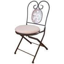 Romantique Outdoor Fresco Folding Chair