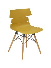 Thames Mustard Side Chair
