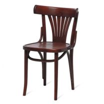 Bentwood Norma Side Chair - Walnut