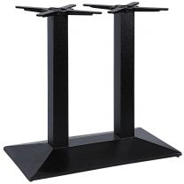 Pyramid Twin Pedestal Dining Height Table Base