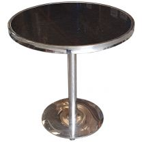 Round Granite Topped Table