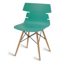Thames Turquoise Side Chair