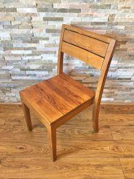 Ex Restaurant Solid Wood Slat Back Dining Chair