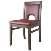 Windsor Side Chair Walnut / Wine