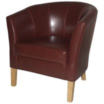 Wine Covent Tub Chairs