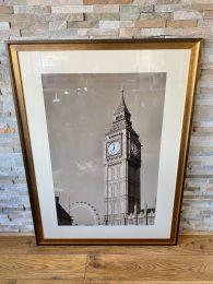 Ex-Hotel Very Large Picture 120cm x 90cm . Big Ben London