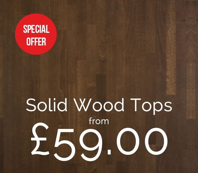 Special offer solid wood table tops