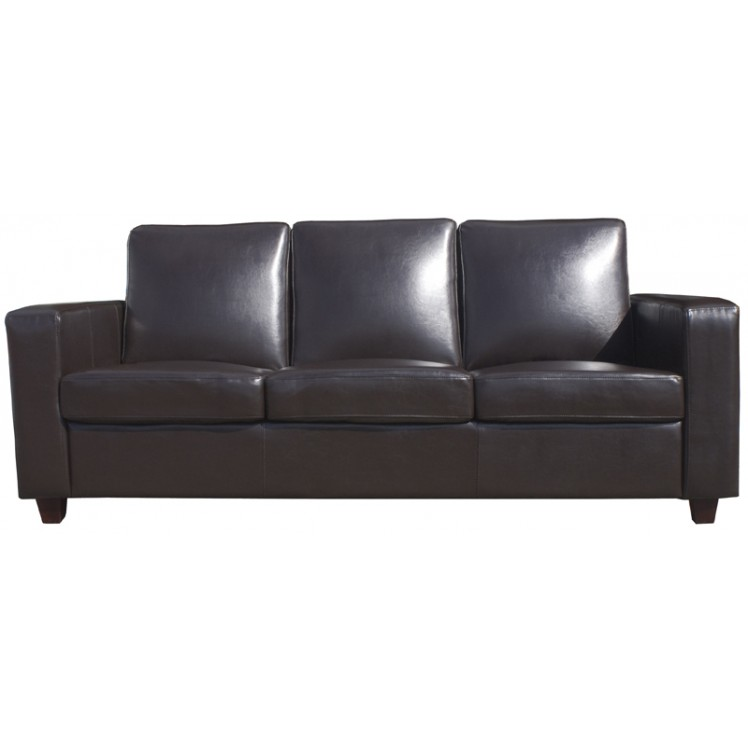 Brown covent 3 seater sofa for May company furniture