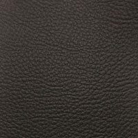 Black Faux Leather Swatch